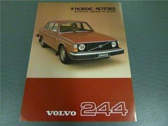 Volvo broschyr: Volvo 244 - 1977 (Australien) - Norrtälje - Volvo broschyr: Volvo 244 - 1977 (Australien) - Norrtälje