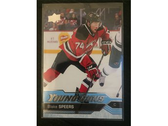 Blake Speers Young Guns - 2016-17 Upper Deck YG