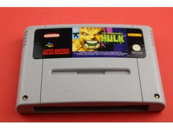 INCREDIBLE HULK till Super Nintendo SNES