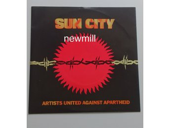 "SUN CITY - ARTISTS UNITED AGAINST APARTHEID.7"" SINGEL MINT VINYL 1985"
