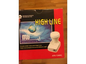 MTI Twin universal digital LNB ap8-t2nrc satellit