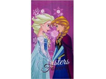 Disney Frozen Disney Frozen Badlakan Handduk 140x70cm Lila 872f64a066d7e