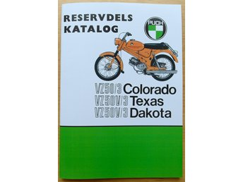 Reservdelskatalog Puch Dakota Texas Colorado