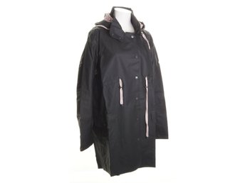 Odd Molly, Regnjacka, Strl: L, Monsoon Rainjacket, Svart