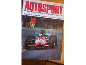 AUTOSPORT  OCTOBER 169--RONNIE PETERSON F 3
