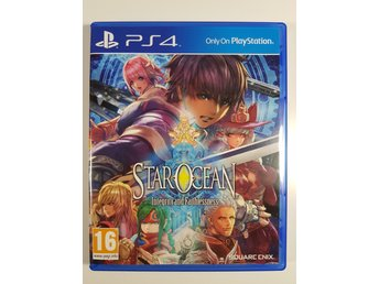 Star Ocean Integrity and Faithlessness Playstation 4 / PS4