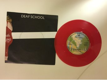 Deaf School  – Thunder & Lightning - Red