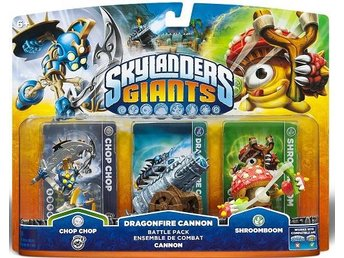 "Skylanders Giants ""Triple Pack #2"" - Uåbnet"