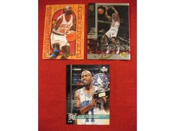 GLEN RICE - 3 ST SAMLARKORT - BASKET