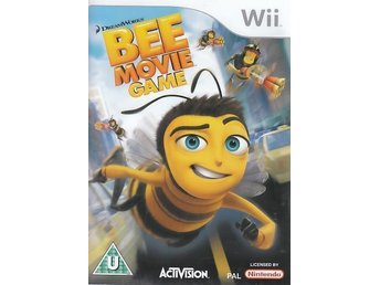 Bee Movie Game Nintendo WII NY! INPLASTAD!