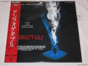 UNFORGETTABLE - WIDESCREEN JAPAN LD