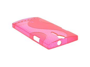 S-Line (Het Rosa Transparent) Sony Xperia S Skal