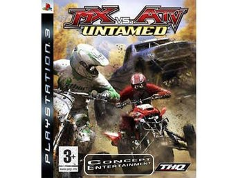 MX VS ATV UNTAMED (komplett) till Sony Playstation 3, PS3