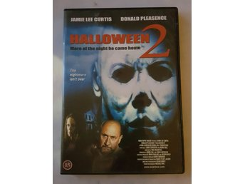 Halloween 2 - more of the night he came home Jamie lee curtis & Donald pleasence - Luleå - Halloween 2 - more of the night he came home Jamie lee curtis & Donald pleasence - Luleå