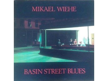 Mikael Wiehe titel* Basin Street Blues* Pop Rock Swe LP