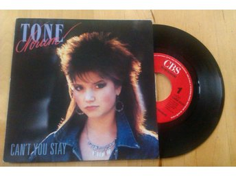 "TONE NORUM - Can´t You Stay 7"" (Joey Tempest, Europe)"