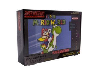 Super Nintendo Luminart Light Super Mario World  30 cm