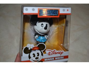 Minnie Mouse, Mimmi Pigg Disney, Metalfigs (JADA Toys) 10cm Ny