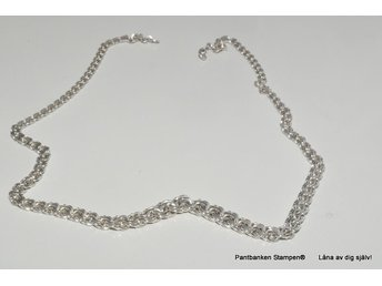 Pant:Collier Bismark doserat silver 16,6gr 3,80mm-7mm
