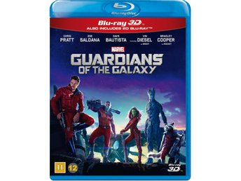 Guardiens of the galaxy  Ny- Inplastad- 3D blu-ray