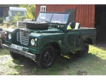 Landrover Serie 2-a.1966. Ex. British Army!