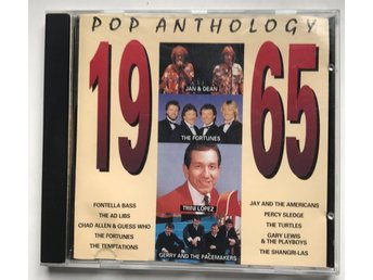CD: Pop Anthology 1965. Låtlista bild 3.