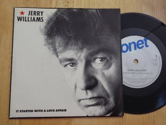 JERRY WILLIAMS - It started with a love affair Sonet -89  singel