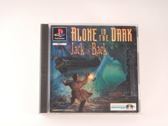Playstation / 1 Ps1  --  Alone in The Dark Jack is Back  --  PAL