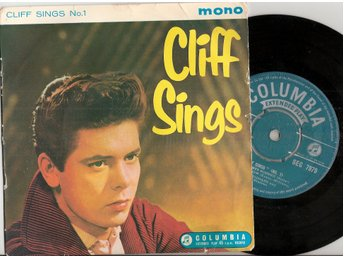 Cliff Richard and the Shadows – Cliff Sings No. 1 – Vinyl EP 45