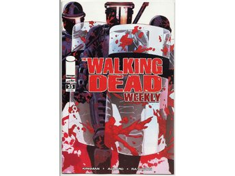 Walking Dead Weekly # 25 NM Ny Import
