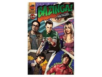 Big Bang Theory Affisch Comic Bazinga A701