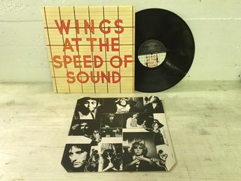 Wings - At The Speed Of Sound UK Orig-76 EX+ !!!!!