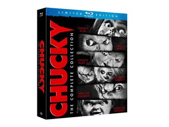 Chucky: Complete Collection [Blu-ray] (Uncut) (6 Disc) *NY* Onda Dockan 1-6