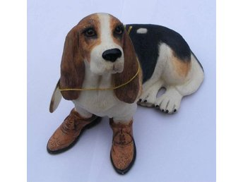 Otroligt fin BASSET HOUND figurin Leonardo Collection perfekt för hund vänner - Kivik - Otroligt fin BASSET HOUND figurin Leonardo Collection perfekt för hund vänner - Kivik