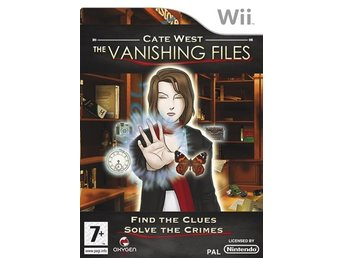 Cate West - The Vanishing Files Nintendo Wii