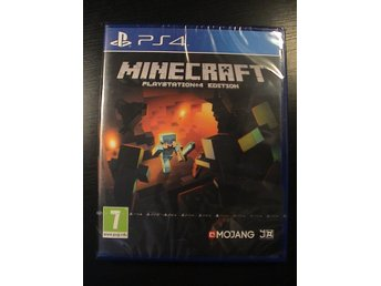 MINECRAFT PS4 EDITION / PS4 SONY PLAYSTATION 4 / HELT NYTT