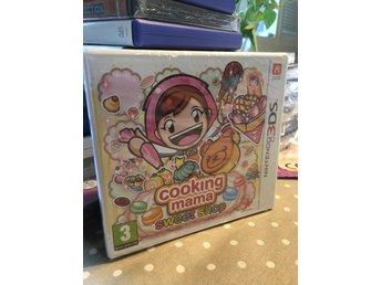 Cooking Mama  Sweet Shop NYTT