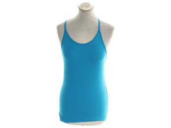 Filippa K, Linne, Athletic Cotton Tank, Strl: S, Turkos