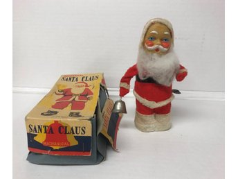 Mechanical Santa Claus, Mekanisk Jultomte