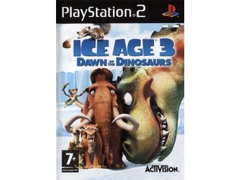 PS2 - Ice Age 3: Dawn of the Dinosaurs (På Engelska) (Beg)