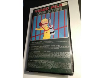Great Stories - VHS hyrfilm Frekvensia GeTe AB - tecknat The Little Diver m.fl.