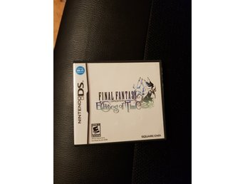 Final fanatsy crystal chronicles echoes of time DS