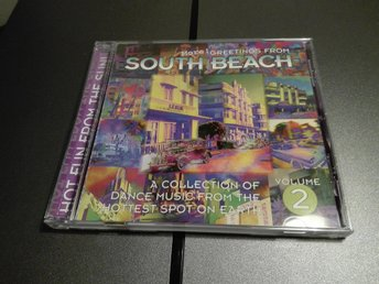 More! Greetings From South Beach (vol 2) (CD, 1995, USA-import) NY/OSPELAD dance