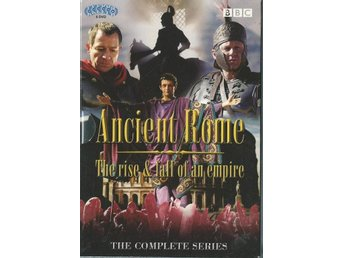 ANCIENT ROME RISE & FALL COMPLETE -BBC- 6 DVD BOX( SVENSKT )