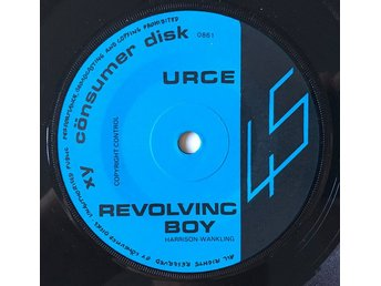 "The Urge ""Revolving Boy"" 1980 RARE EXC"