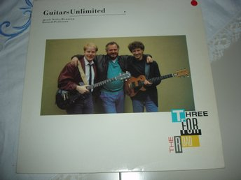 GUITARS UNLIMITED-Three For The Road  (LP, 1989, SWE)