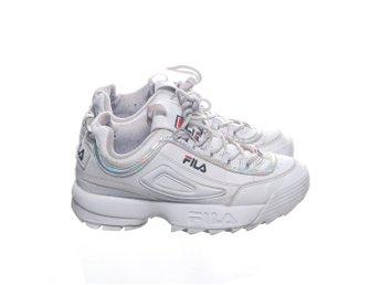 Fila, Sneakers, Strl: 37, Vit, Skinnimitation