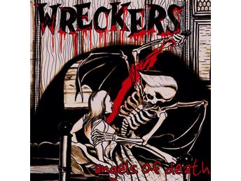 "Wreckers - Angel of Death 7"" red vinyl NY - FRI FRAKT"