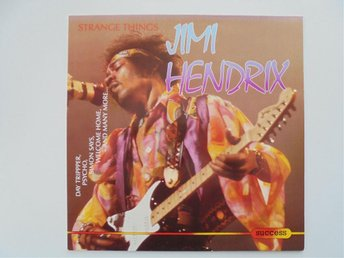 VINYL LP JIMI HENDRIX     STRANGE THINGS