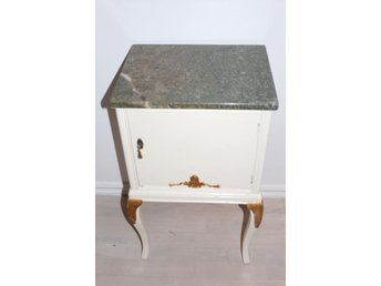 Unikt sängbord med marmorskiva - Stockholm - Unikt sängbord med marmorskiva - Stockholm